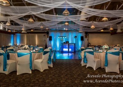 The Tides Satellite Beach Florida Wedding Decor