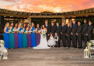 World Center Marriott Orlando Florida Wedding Bridal Party