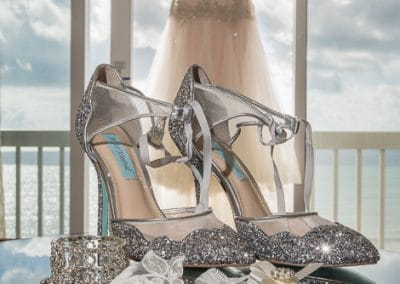 Melbourne Beach Hilton Florida Bride Wedding Dress & Shoes