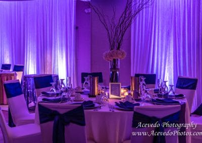 Cocoa Beach Florida Marriott Wedding Decor Photo