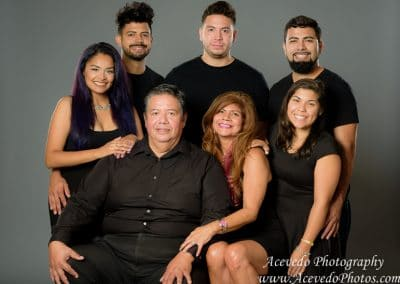 Family Studio Portrait Photography Palm Bay Florida