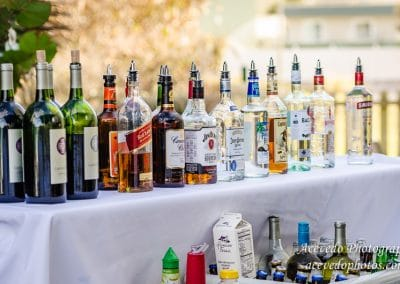 Hilton Melbourne Beach Oceanfront Wedding Celebration Liquor