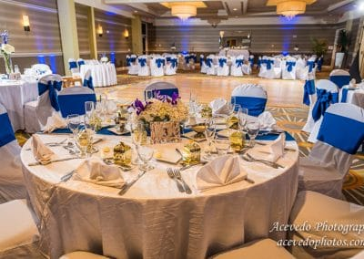 Hilton Melbourne Beach Oceanfront Wedding Celebration Decor