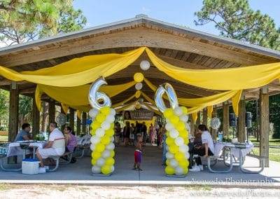 Wickham Park Melbourne Florida 60th Birthday Party