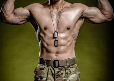 Military Sport Portrait Photography Studio