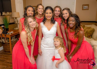 Bright Side Barns Cocoa Florida Wedding Bridesmaid Portrait