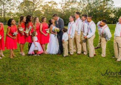 Brightside Barns Cocoa Florida Wedding Bridal Party Portrait