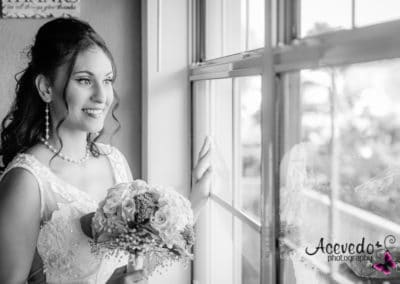 Bright Side Barns Cocoa Florida Wedding Bride Portrait