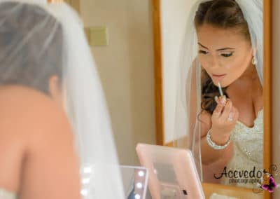 Carnival Wedding Cruise Bride Portrait