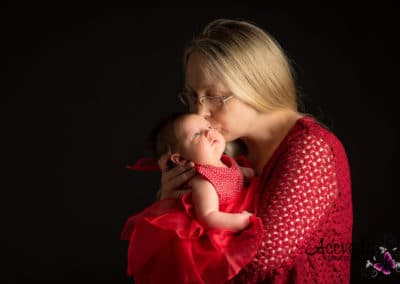 Studio Photography Portrait Mom & Baby
