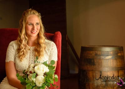 Malabar Florida Up The Creek Farms Wedding Bride Portrait