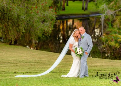 Malabar Florida Up The Creek Farms Wedding Bride Groom Portrait