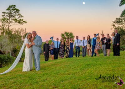 Malabar Florida Up The Creek Farms Wedding Portrait